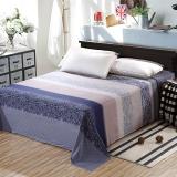 艾薇 床品家纺 单人床单单件纯棉被单1床/1.2床(艾玛节奏152*210)