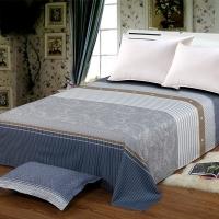 艾薇 床单家纺 全棉斜纹印花被单 双人纯棉床单 单件 遇见 1.5/1.8米床 230*250cm