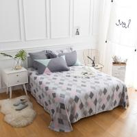 佳佰 床单 单件 床上用品 纯棉斜纹简约 写意人生 适用1.5米双人床(180*230)