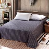 艾薇(AVIVI)床单单件纯棉40支斜纹印花被单加大单人床1.2床150 210爵士格调