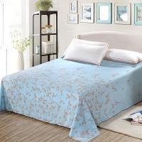 艾薇 床品家纺 单人床单单件纯棉被单1床/1.2床(莫奈初晨152*210)