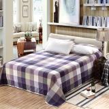 艾薇(AVIVI)床单单件纯棉40支斜纹印花被单加大单人床1.2床150 210罗马文化