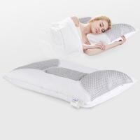 睡眠博士(AiSleep)枕芯 舒睡荞麦枕 草本纤维枕 舒睡酒店枕头 护颈枕