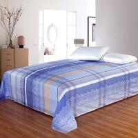 艾薇 床品家纺 单人床单单件纯棉被单1床/1.2床(时尚情怀152*210)