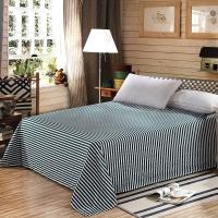 艾薇 床品家纺 单人床单单件纯棉被单1米/1.2米(畅想人生152*210)