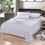 艾薇 床单家纺 纯棉被单 单人学生宿舍全棉床单 单件 诺曼底 1/1.2米床 150*210cm