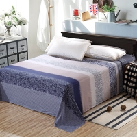 艾薇 床品家纺 双人床单单件纯棉被单1.5床/1.8床230*250(艾玛节奏)