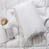 佳佰 枕头 荞麦枕 草本养生枕保健枕 甜荞麦壳填充 全棉枕芯枕头总重6斤左右可拆卸 单只装
