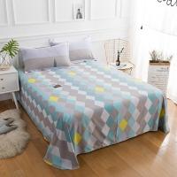 佳佰 床單 單件 床上用品 純棉斜紋簡約 品味優雅 適用1.8米雙人床(240*240)