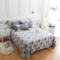 佳佰 床单 单件 床上用品 纯棉斜纹简约 写意人生 适用1.8米双人床(240*240)
