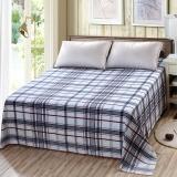 艾薇 床单家纺 纯棉被单 双人加大柔软全棉床单 单件 永恒之星 1.5/1.8米床 230*250cm