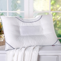 艾维(I-WILL) 决明子枕头枕芯单人草本纤维枕颈椎睡眠枕单只装48*74cm