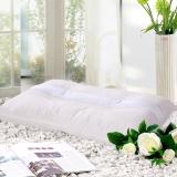 富安娜家纺圣之花 枕头芯颈椎枕草本枕芯 成人枕头 茶香舒压枕 74*48cm 白色