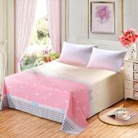 艾薇 床品家纺 单人床单单件纯棉被单1床/1.2床(小清新152*210)