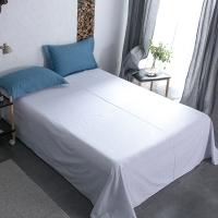 佳佰 床单 单件 床上用品 纯棉斜纹简约 典格  适用1.8/2.0米双人床 加大(240*270)