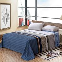 艾薇 床单家纺 纯棉被单 单人学生宿舍全棉床单 单件 北欧森林 1/1.2米床 150*210cm