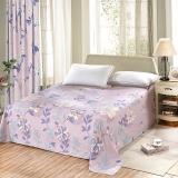 艾薇(AVIVI)床單單件純棉40支斜紋印花大被單雙人床1.5米/1.8米床230 250歡樂頌