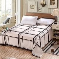 艾薇(AVIVI)床单单件纯棉40支斜纹印花被单加大单人床1.2床150 210安东尼