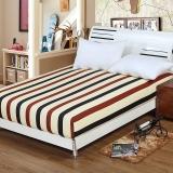 艾薇 床垫套保护罩双人40支纯棉斜纹防滑床笠1.5米床 裸婚时代 150*200*25cm
