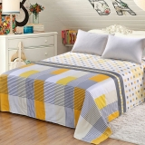 艾薇 床品家纺 单人床单单件纯棉1米/1.2米(别具一格152*210)
