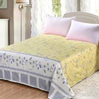 艾薇 床品家纺 双人床单单件纯棉被单1.5床/1.8床230*250(新都市闲情)