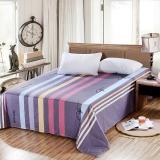 艾薇(AVIVI)床单单件纯棉40支斜纹印花被单加大单人床1.2床150 210(时尚前沿灰)