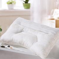 艾薇 床品家纺 木棉决明子枕芯颈椎枕头芯(双面四季可用)