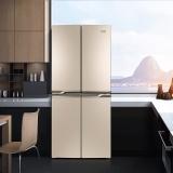 奥马(Homa) 403升 变频十字对开门冰箱 分储不串味双冻力制冷 电脑控温 节能静音 金色BCD-403DH/B