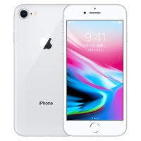 【KA】Apple iPhone 8 (A1863) 256GB 银色 移动联通电信4G手机