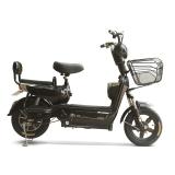 雅辉 电动车 真空轮胎前液压减震电瓶车电动自行车双遥控踏板车48V20AH 追风 亮黑