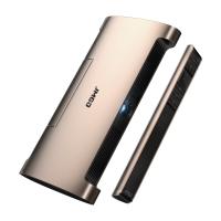 坚果(JmGO)M6 便携投影仪 投影机办公(200流明 手机/微型投影 适用于安卓/苹果同屏 移动电源)