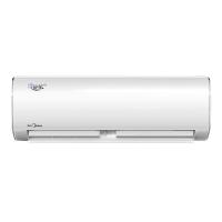 美的(Midea)2匹 变频冷暖 挂机空调 KFR-50GW/BP2DN1Y-PC400(B3)一价全包(包18米铜管)