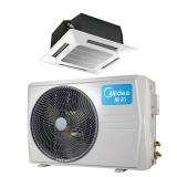 美的(Midea)KFR-72QW/DY-B(D3)商用冷暖中央空调天花机 四面出风 吸顶式天井机 3匹冷暖220V