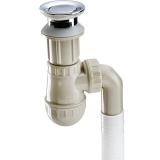 莱尔诗丹(Larsd)LD304洗脸盆下水器 防臭 全铜 翻板 洗手盆去水器 下水管 软管