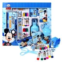 迪士尼(Disney)DM20198M 米奇学习用品文具礼盒套装/16件大礼包蓝色