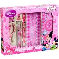 迪士尼(Disney)DM0011-5B 小学生文具礼盒/生日礼包7件套粉色