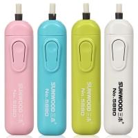 三木(SUNWOOD) 5880 电动橡皮擦/美术橡皮擦 颜色随机 办公文具