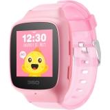 360儿童手表 彩色触屏版 防丢防水GPS定位 360儿童卫士 360儿童手表 SE 2 Plus W605 智能问答手表 珊瑚粉