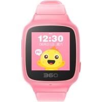 360儿童手表SE 2 Plus 彩色触屏版 防丢防水GPS定位 W605 智能问答手表 珊瑚粉