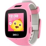 360儿童手表6C智能拍照版电话手表 智能语音 防丢GPS定位 360儿童电话 儿童手表6C W703 彩屏电话手表 樱花粉