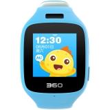 360儿童手表6C智能拍照版电话手表 智能语音 防丢GPS定位 360儿童电话 W703 彩屏电话手表 天空蓝