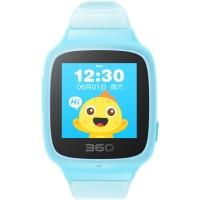 360儿童手表SE 2 Plus 彩色触屏版 防丢防水GPS定位 W605 智能问答手表 松石蓝