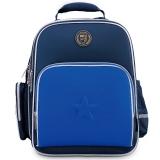 得力(deli)8694 中小学生大容量收纳书包 反光条设计 减负护脊 深蓝色