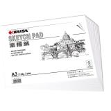 凯萨(KAISA)KS-90302 A3 素描纸(420*297mm)135g 20张/袋