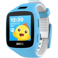 360儿童手表6C智能拍照版电话手表 智能语音 防丢GPS定位 360儿童电话 儿童手表6C W703 彩屏电话手表 天空蓝
