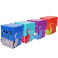 得力(deli)0740 小盒系列自动进笔手摇式削笔机/削笔器(混)