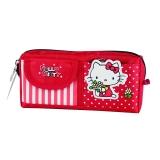 广博(GuangBo)帆布多格大容量铅笔袋文具袋/学习用品 凯蒂猫KT85005