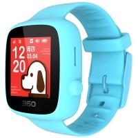 360儿童电话手表 安全定位全彩触屏 儿童学生手机手环 360儿童手表SE 3代 W608B 智能电话手表 天空蓝