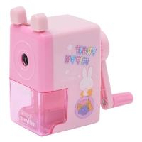 晨光(M&G)FPS90606卡通彩色削笔器削笔机卷笔刀粉色