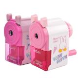晨光(M&G)FPS90610卡通粉彩削笔器削笔机卷笔刀粉色1个装新老包装随机发货